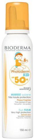 BIODERMA Photoderm KID Mousse SPF50+/UVA 39 ochronna pianka dla dzieci 150ml