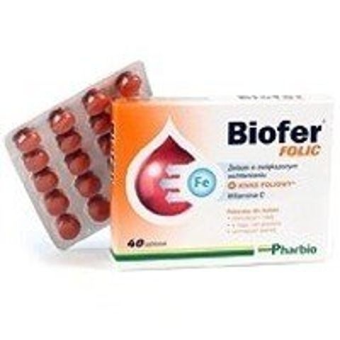BIOFER Folic x 40 tabletek