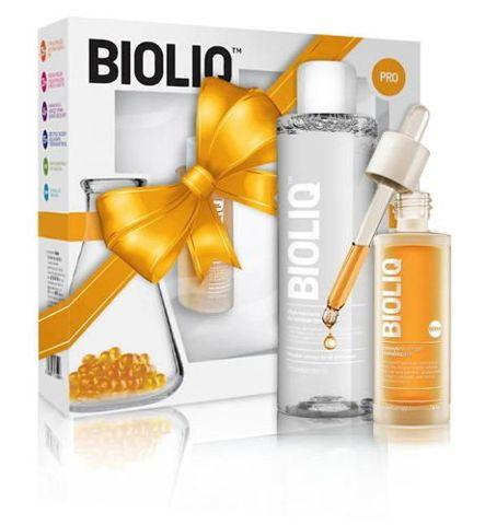 BIOLIQ PRO Intensywne serum rewitalizujące 30ml + Płyn micelarny 200ml