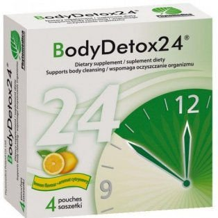 BODYDETOX24 x 4 saszetki aromat cytrynowy