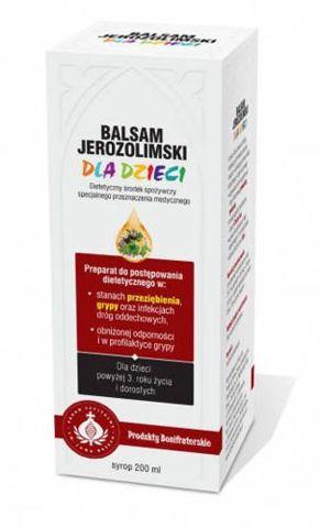 Balsam Jerozolimski dla dzieci syrop 200ml