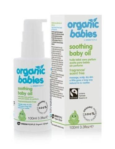 Bezzapachowy kojący olejek dla niemowląt - Obniżona cena - krótki termin ważności