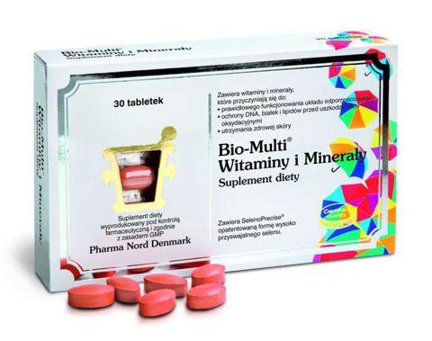 Bio-Multi Witaminy i Minerały x 30 tabletek