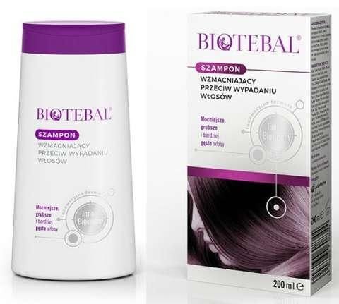 Biotebal szampon przeciw wypadaniu włosów 200ml
