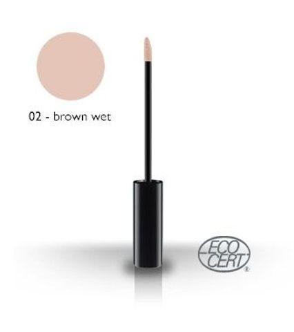 Błyszczyk do ust 02 - Brown Wet