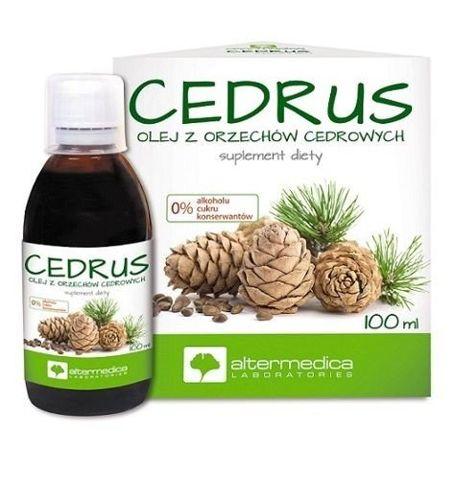 CEDRUS Olej z orzechów cedrowych 100ml