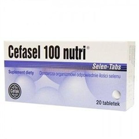 CEFASEL 100 NUTRI Selen-Tabs x 20 tabletek