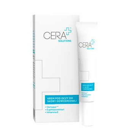 CERA+ Solutions krem pod oczy do skóry odwodnionej 15ml