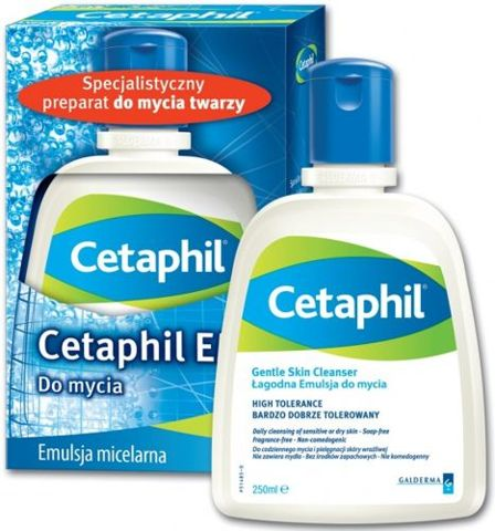 CETAPHIL Emulsja micelarna do mycia 250ml