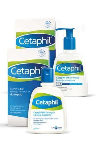 CETAPHIL Emulsja micelarna do mycia skóry wrażliwej 236ml