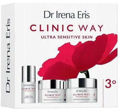 CLINIC WAY 3° ZESTAW Pielęgnacja anti-aging