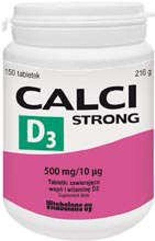 Calci Strong D3 x 150 tabletek