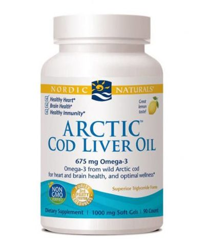 Cod Liver Oil x 90 kapsułek