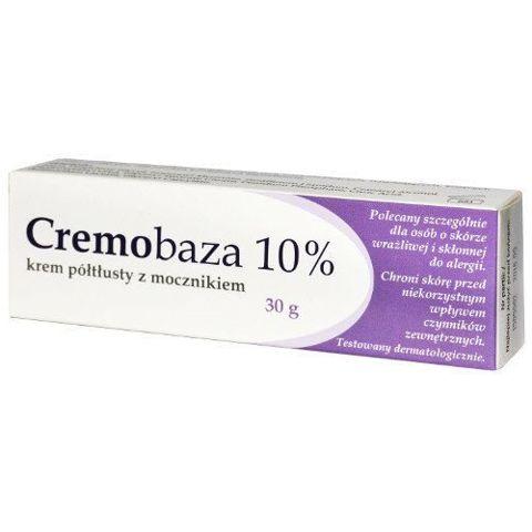Cremobaza 10% krem półtłusty z mocznikiem 30g