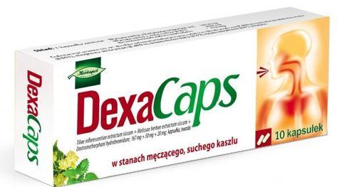 DEXACAPS x 10 kapsułek