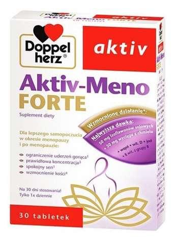 DOPPELHERZ Aktiv Meno Forte x 30 tabletek