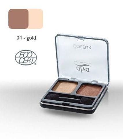 DUET cieni do powiek 04 - Gold 4 g