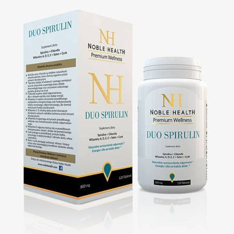 DUO SPIRULIN Noble Health x 120 tabletek