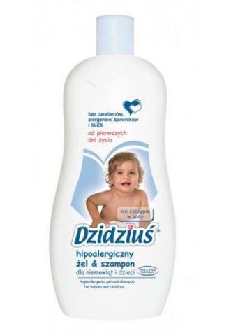 DZIDZIUŚ Hipoalergiczny żel & szampon 500ml