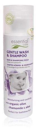 Delikatny płyn do mycia ciała i włosów  dla niemowląt 200ml