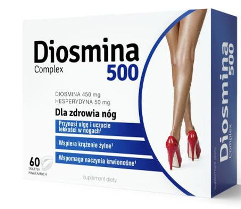 Diosmina 500 Complex x 60 tabletek