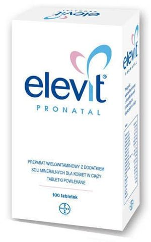 ELEVIT PRONATAL x 100 tabletek