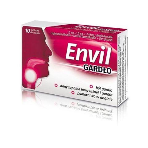 ENVIL Gardło x 10 tabletek do ssania