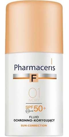ERIS Pharmaceris F Fluid Ochronno-Korygujący SPF50+ 01 Ivory 30ml