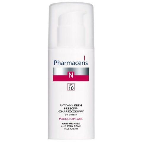 ERIS Pharmaceris N Magni-Capilaril Aktywny krem przeciwzmarszczkowy do twarzy SPF10 50ml