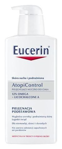 EUCERIN AtopiControl mleczko pielęgnujące do ciała 400ml