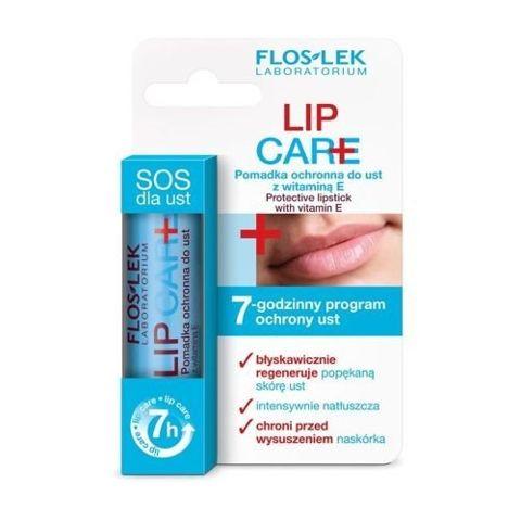 FLOSLEK LIP CARE Pomadka ochronna do ust z witaminą E 1%