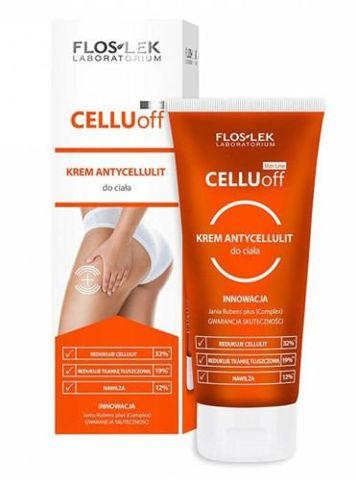 FLOSLEK Slim Line Cellu Off Krem antycellulitowy do ciała 200ml