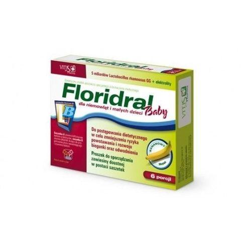 Floridral Baby proszek do sporządzania zawiesiny  x 6 porcji