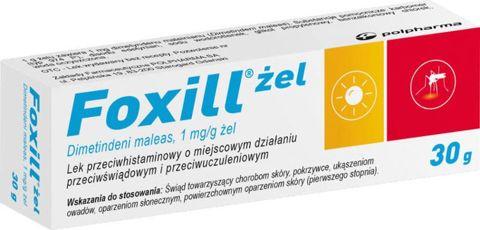 Foxill żel 1mg/g