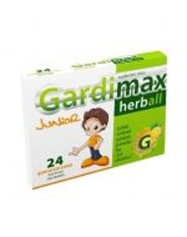 GARDIMAX HERBALL Junior x 24 pastylki do ssania pomarańczowe