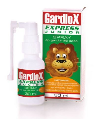 GARDLOX EXPRESS Junior spray 30ml