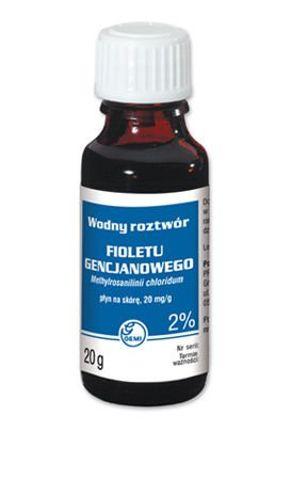 GENCJANA Fiolet roztwór wodny 2% 20ml