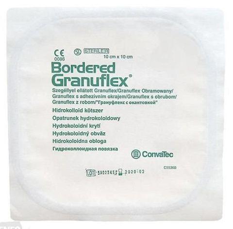 GRANUFLEX Bordered - Obramowany opatrunek hydrokoloidowy 10 x 10 cm - 1szt