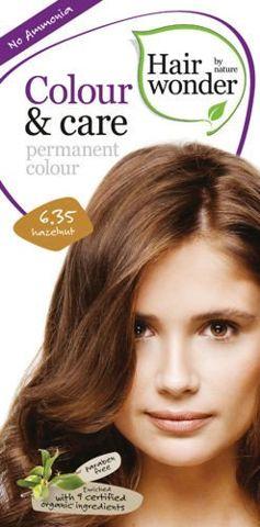 HAIRWONDER Colour & Care Farba do włosów 6.35-HAZELNUT 100ml