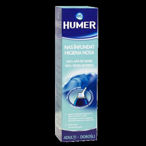 HUMER Woda morska do nosa dla dorosłych spray 150ml