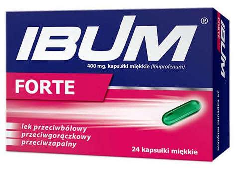 IBUM FORTE x 24 tabletki