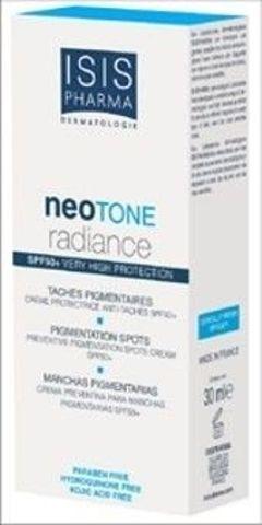 ISISPHARMA Neotone Radiance serum na dzień likwidujące przebarwienia skóry z filtrem SPF50+ 30ml