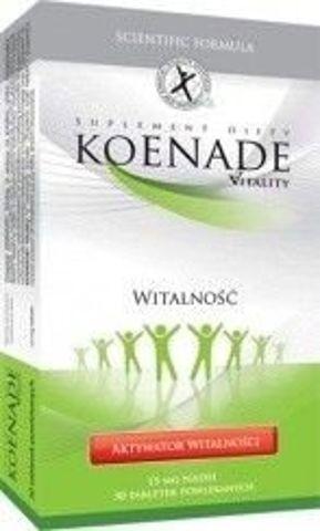 KOENADE VITALITY 15mg x 30 tabletek