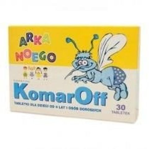 KOMAROFF Arka Noego x 30 tabletek