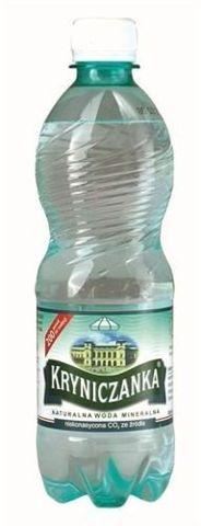 KRYNICZANKA woda mineralna 1,5 litra niegazowana