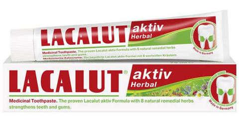 LACALUT Aktiv Herbal Pasta do zębów 75 ml