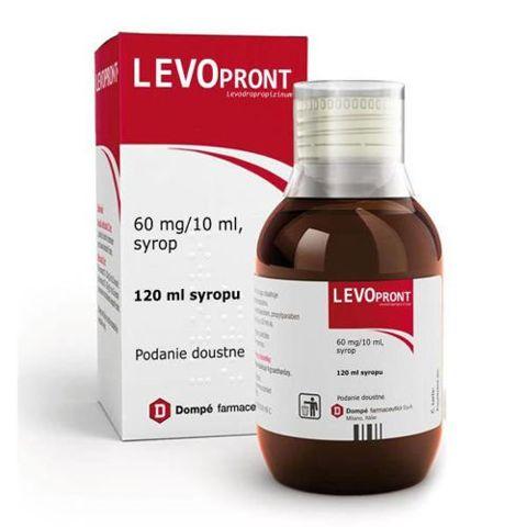 LEVOPRONT syrop 0,06g/10ml 120ml