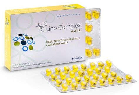 LINOComplex A+E+F x 60 kaps.