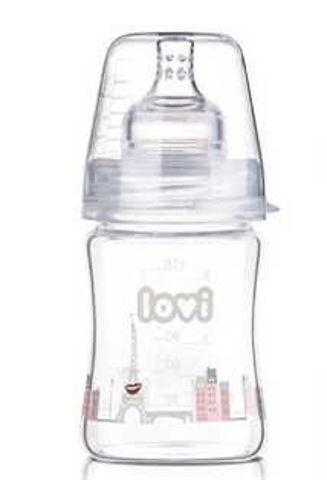 LOVI Butelka szklana Diamond Glass Retro Girl 150ml 74/102