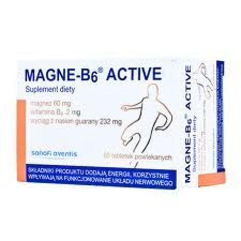 MAGNE B6 ACTIVE x 50 tabletek